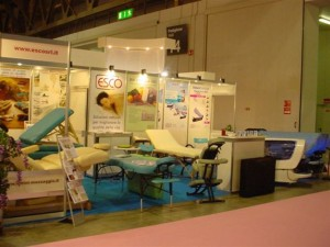 Lo Stand ESCO al Wellness & SPA Exhibition 2008
