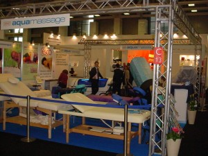 COSMOPROF 2009: I lettini da massaggio