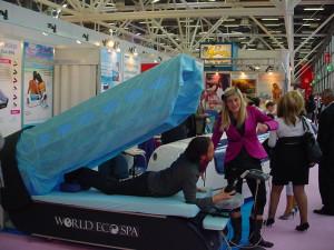 COSMOPROF 2008: Pronti per un piacevole massaggio con Aquamassage