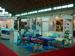 Lo stand ESCO al Rimini Wellness 2008