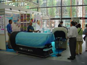 In primo piano la nuova aquamassage WES