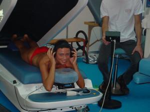 Preparativi per un massaggio rilassante con aquammageSPA