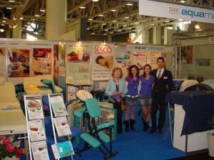 COSMOPROF 2009: Elsa e i collaboratori
