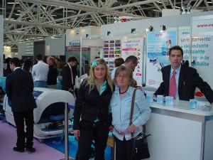 COSMOPROF 2008: Elsa, Nadia e Fabio alla Reception