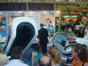Visitatori allo stand ESCO