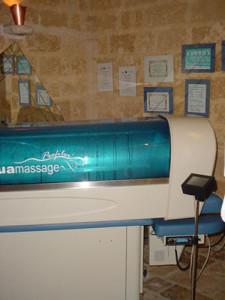 Aquamassage XL 250 centro estetico.