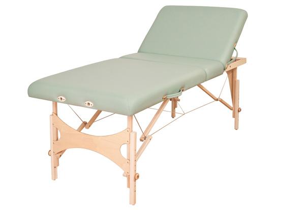 Top Line Lettino Da Massaggio Portatile In Legno E Alluminio